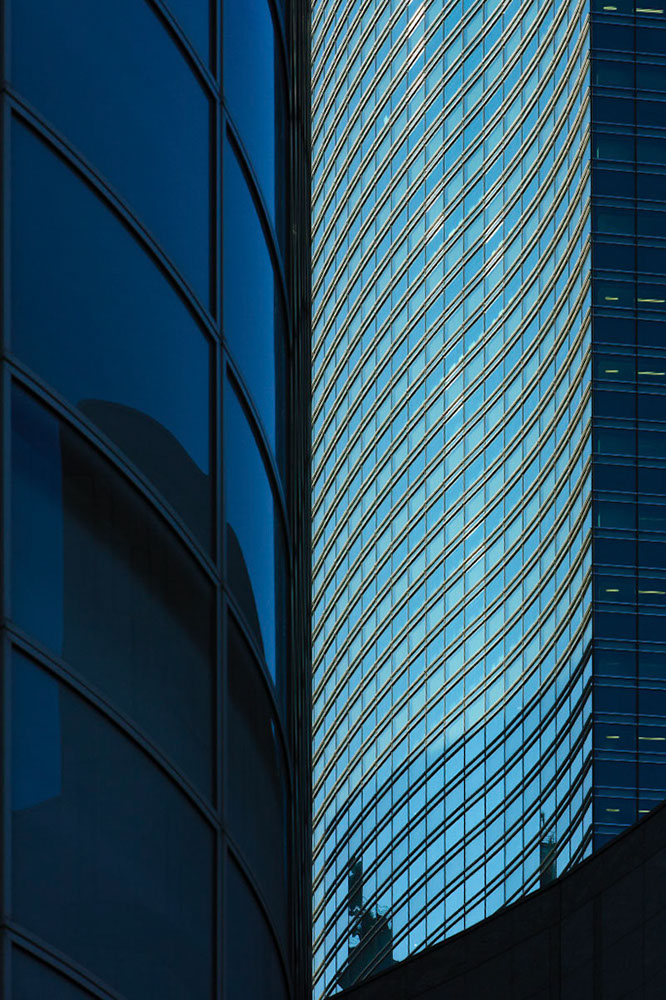 Shiodome, Tokyo, Giappone, architetti Kevin Roche John Dinkeloo and Associates